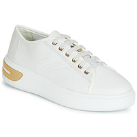 Shoes Women Low top trainers Geox D OTTAYA White