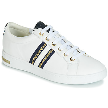 Shoes Women Low top trainers Geox D JAYSEN White