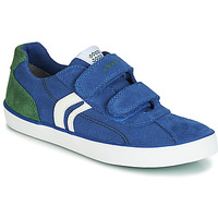 Shoes Boy Low top trainers Geox J KILWI BOY Blue