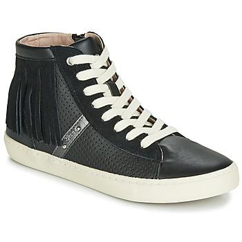 Shoes Girl High top trainers Geox J KILWI GIRL Black