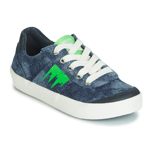 Abandonar Arturo cargando  Geox J KILWI BOY Blue / Green - Fast delivery | Spartoo Europe ! - Shoes  Low top trainers Child 44,00 €