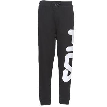 material Tracksuit bottoms Fila PURE Basic Pants Black