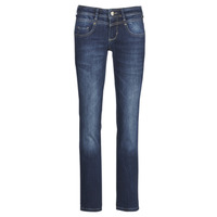 material Women straight jeans Freeman T.Porter Cathya SDM Blue / Dark