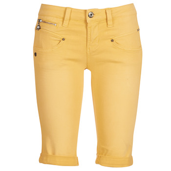 material Women Shorts / Bermudas Freeman T.Porter Belixa New Magic Color Yellow