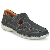 Shoes Men Sandals Josef Seibel ANVERS 82 Blue