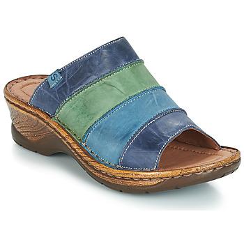 Shoes Women Mules Josef Seibel CATALONIA 64 Blue