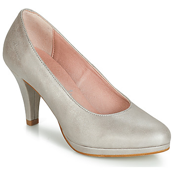 Shoes Women Court shoes Dorking 7118 Silver