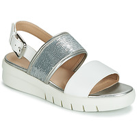 Shoes Women Sandals Geox WIMBLEY SAND White