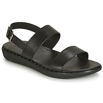 Shoes Women Sandals FitFlop BARRA  black