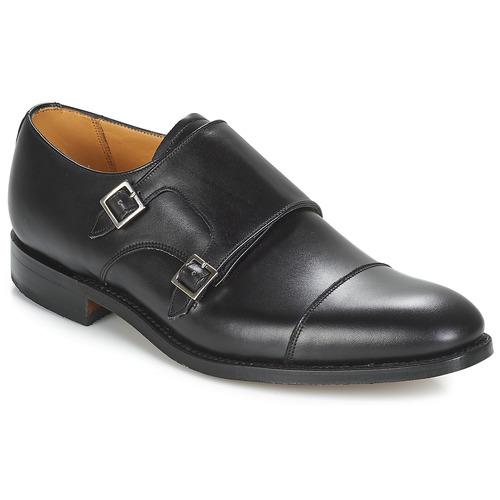 Shoes Men Brogue shoes Barker TUNSTALL Black