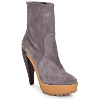 Shoes Women Ankle boots Kallisté BOTTINE 5959 Peltro