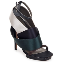 Shoes Women Sandals Kallisté NU-PIED 5801 Silver