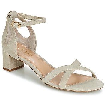 Shoes Women Sandals Lauren Ralph Lauren FOLLY Beige