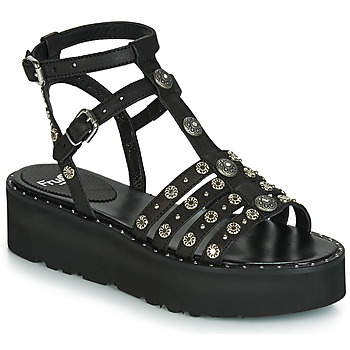 Shoes Women Sandals Fru.it 5433-476 Black