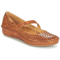 Shoes Women Ballerinas Pikolinos P. VALLARTA 655 Brown