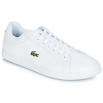 110103c7f90 Shoes Men Low top trainers Lacoste GRADUATE BL 1 White