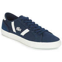 Shoes Men Low top trainers Lacoste SIDELINE 119 1 Marine / White