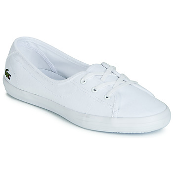 Shoes Women Low top trainers Lacoste ZIANE CHUNKY BL 2 White