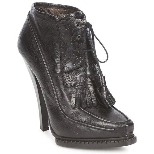 Shoes Women Ankle boots Roberto Cavalli QDS640-PZ030 Black