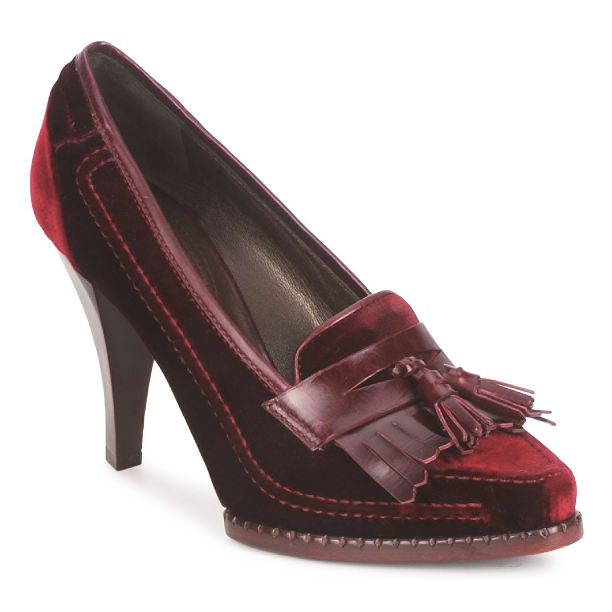 Court-shoes Roberto Cavalli QDS629-VL415 Red