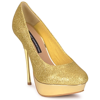 Shoes Women Court shoes French Connection JEZABEL Gold