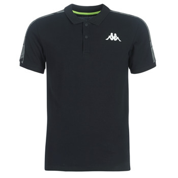 material Men short-sleeved polo shirts Kappa GASTO Black