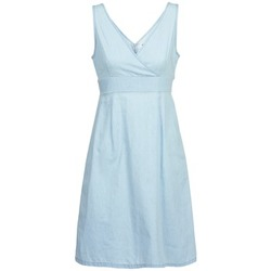 material Women Short Dresses Vero Moda JOSEPHINE Blue / Clear