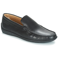 Shoes Men Loafers Lumberjack LEMAN Black