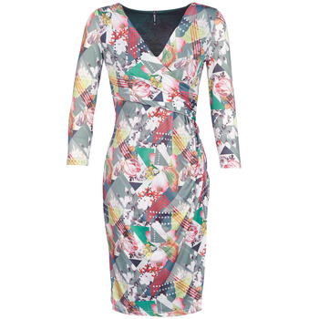 material Women Short Dresses Smash DAPHNE Multicoloured