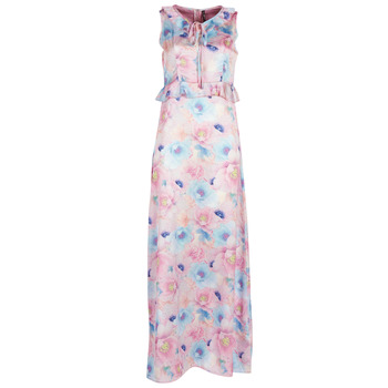 material Women Long Dresses Smash ISABELA Pink