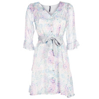 material Women Short Dresses Smash MALLORY White