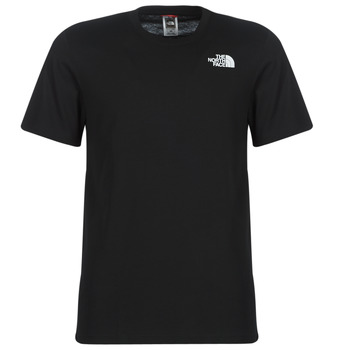 material Men short-sleeved t-shirts The North Face MEN'S S/S REDBOX TEE Black