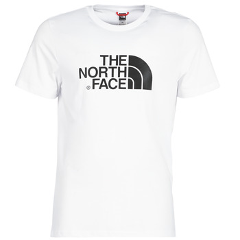 material Men short-sleeved t-shirts The North Face MEN'S S/S EASY TEE White