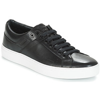 Shoes Men Low top trainers HUGO FUTURISM TENN IT1 Black