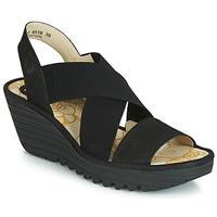 Shoes Women Court shoes Fly London YAJI Black