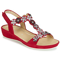 Shoes Women Sandals Ara CAP-HS Red