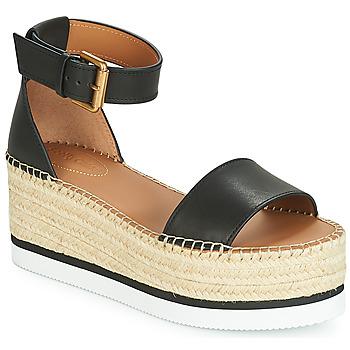 Shoes Women Espadrilles See by Chloé SB32201A Black
