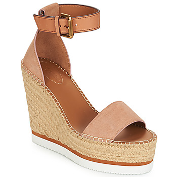 Shoes Women Espadrilles See by Chloé SB26152 Pink / Nude