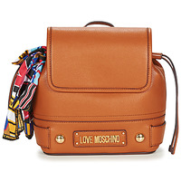 Bags Women Rucksacks Love Moschino JC4037PP17 Cognac