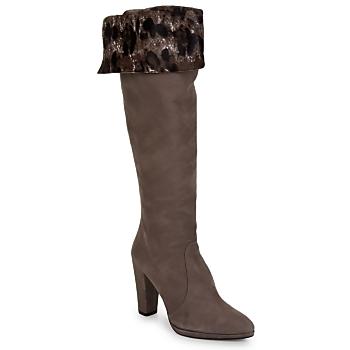 Shoes Women Boots Stuart Weitzman ZOOKEEPER Stone