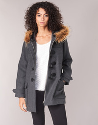 material Women coats Casual Attitude HAIELL Grey