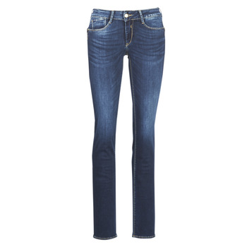 material Women straight jeans Le Temps des Cerises PULP REGULAR Blue