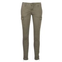 material Women Cargo trousers  Le Temps des Cerises ARMY Kaki