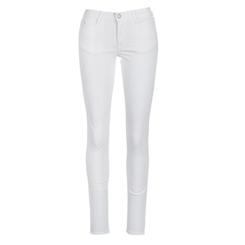 material Women 5-pocket trousers Le Temps des Cerises 317 White