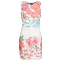 material Women Short Dresses Desigual YAQUEL White