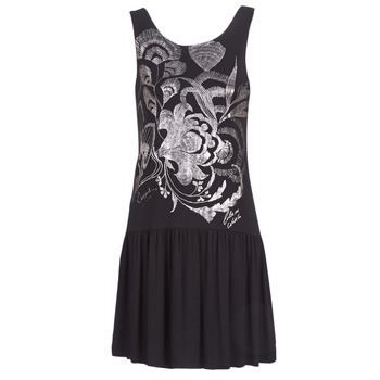 material Women Short Dresses Desigual OMAHAS Black