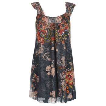 material Women Short Dresses Desigual NIELS Grey