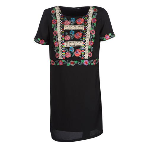 material Women Short Dresses Desigual TRALEE Black