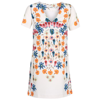 material Women Short Dresses Desigual CORK White