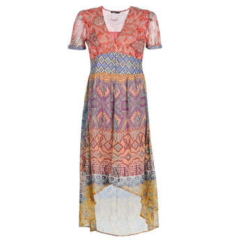 material Women Long Dresses Desigual NANA Multicolour